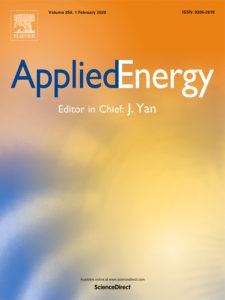 Applied Energy journal cover