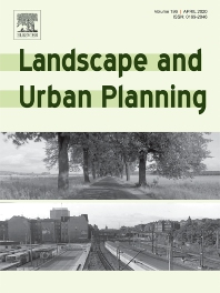 Landscape and Urban Planning journal cover