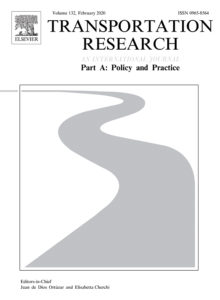 Transportation Research journal cover